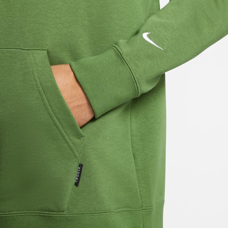 Nike Sportswear Swoosh Erkek Yeşil Kapüşonlu Sweatshirt