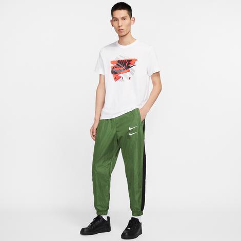 Nike Sportswear Swoosh Erkek Yeşil Eşofman Altı