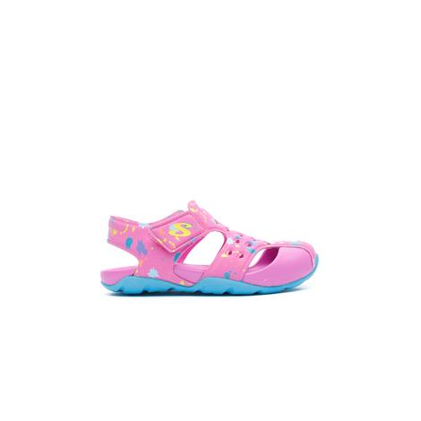 Skechers Side Wave Çocuk Pembe Sandalet