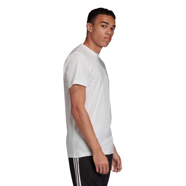 adidas Camo Ess Erkek Beyaz T-Shirt