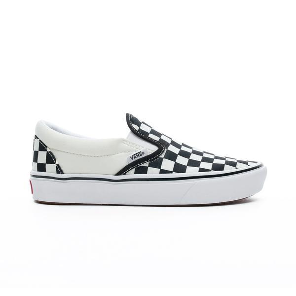 Vans ComfyCush Slip-On Unisex Siyah Damalı Sneaker