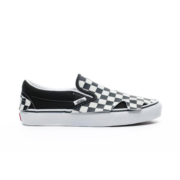 Vans Classic Slip-On Origami Kadın Siyah-Bej Sneaker