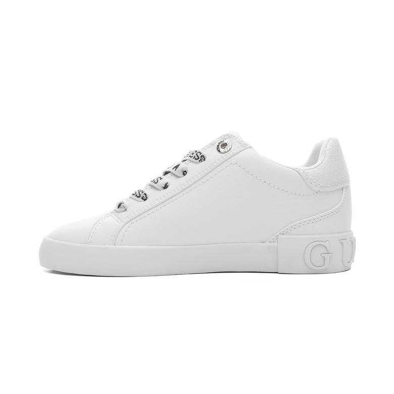 Guess Puxly Kadın Beyaz Spor Ayakkabı