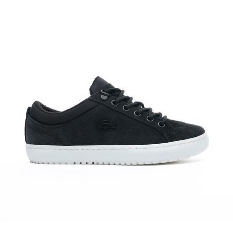 Lacoste Straightset Insulate 3191Cfa Kadın Siyah - Bej Casual Ayakkabı