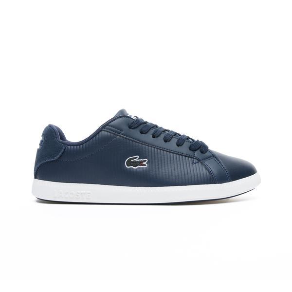 Lacoste Graduate 319 2 Sfa Kadın Lacivert - Bej Sneaker