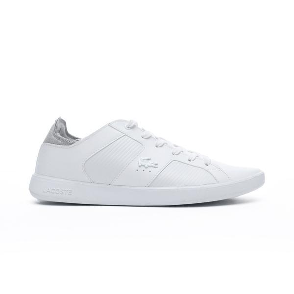 Lacoste Novas 319 2 Sma Erkek Beyaz - Gri Sneaker