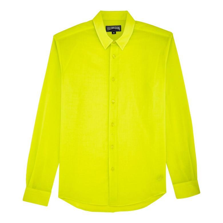 Vilebrequin Unisex Caracal Sarı Gömlek