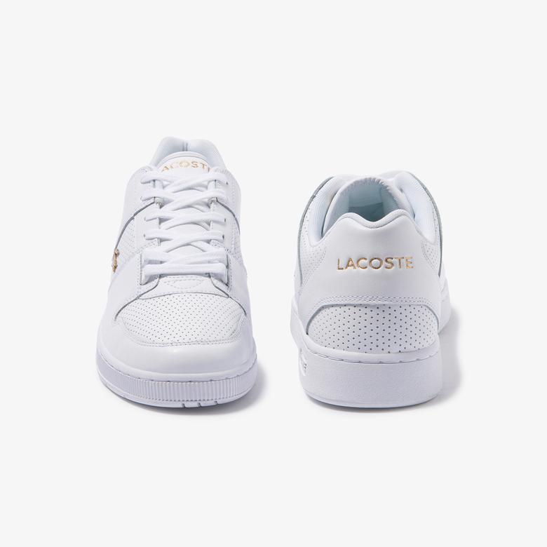 Lacoste Thrill 120 4 Us Sma Erkek Beyaz Deri Sneaker