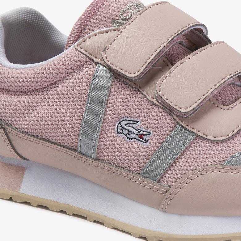 Lacoste Partner 120 1 Suc Çocuk Pudra - Beyaz Sneaker
