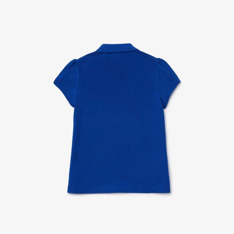 Lacoste Çocuk Saks Mavi Polo