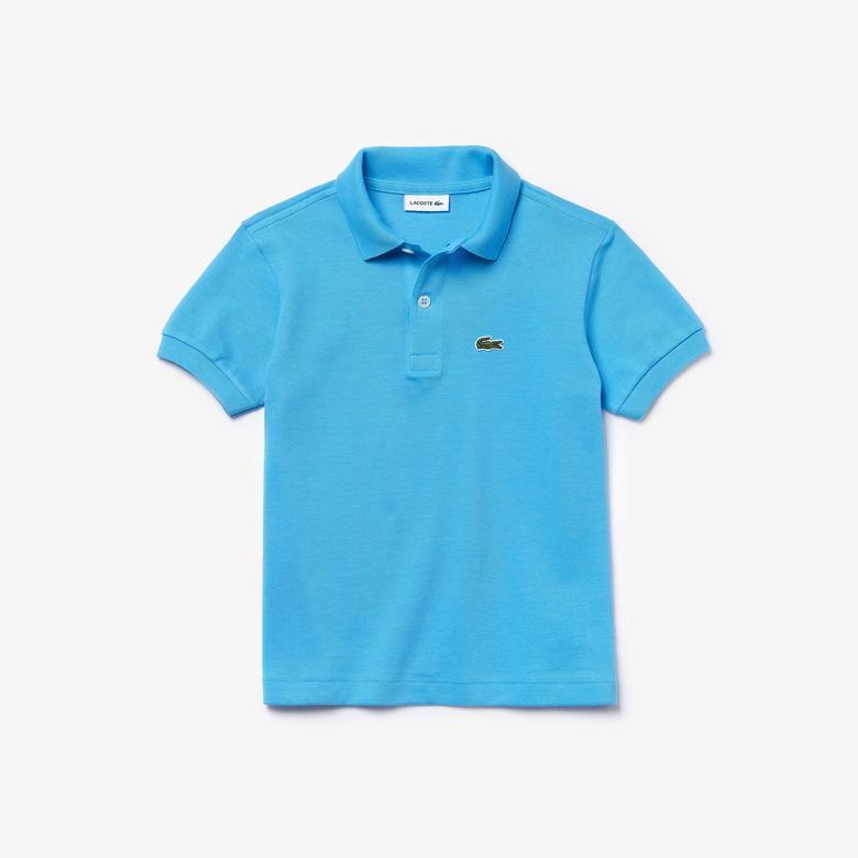 Lacoste Çocuk Açık Mavi Polo