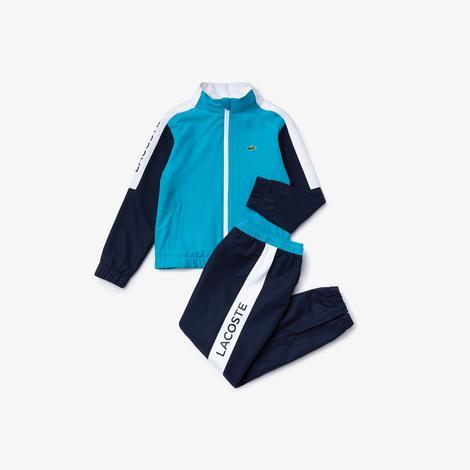 Lacoste Sport Çocuk Mavi Eşofman Takımı