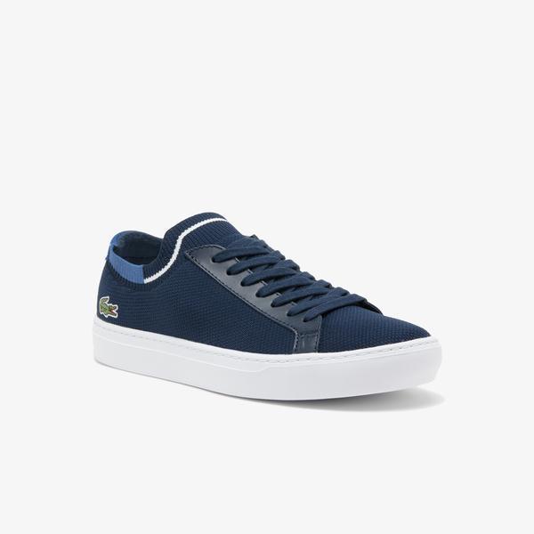 Lacoste La Piquee 120 1 Cma Erkek Lacivert - Mavi Spor Ayakkabı