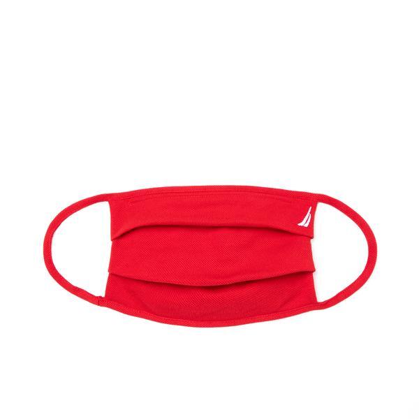 Nautica Pamuklu Yıkanabilir Kırmızı Maske