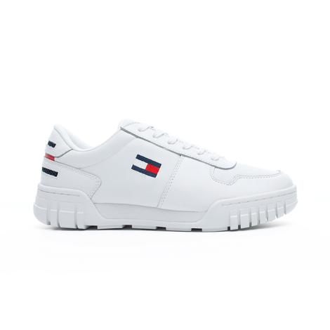 Tommy Hilfiger Essential Retro Erkek Beyaz Spor Ayakkabı