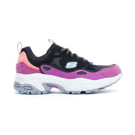 Skechers Stamina - Uphill Path Kadın Siyah Spor Ayakkabı