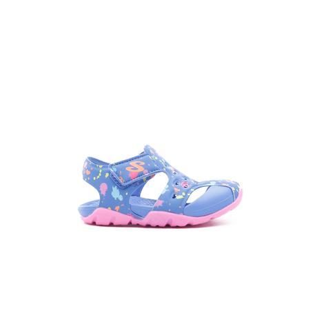 Skechers Side Wave Bebek Mavi Sandalet