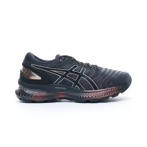Asics Gel-Nimbus 22 Platinum Siyah Kadın Spor Ayakkabı