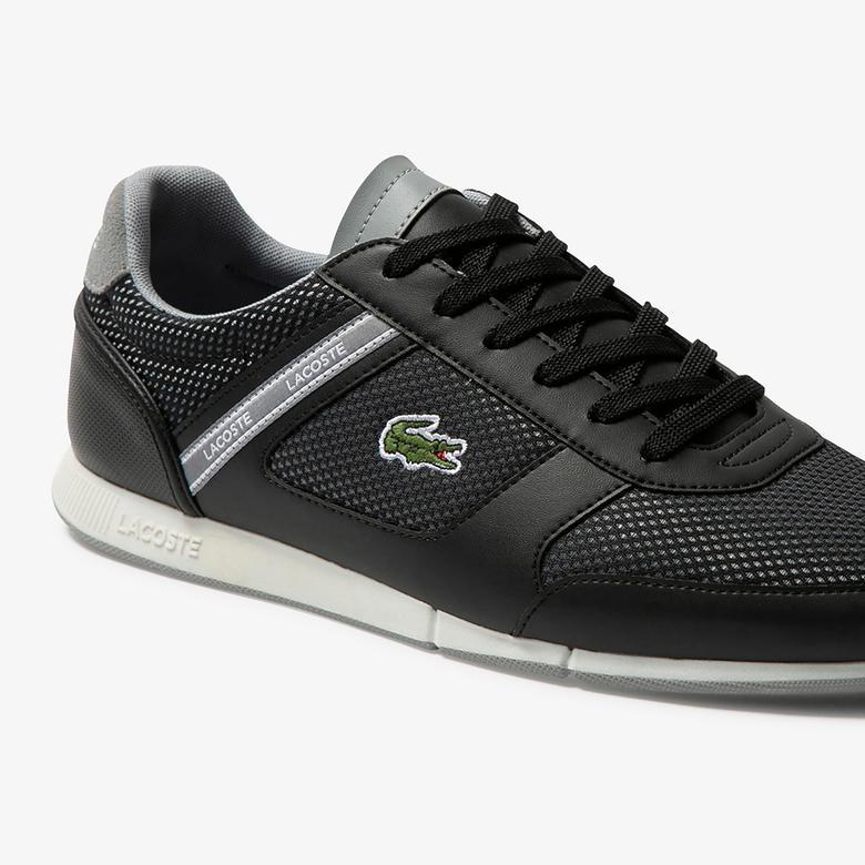 Lacoste Menerva Sport Erkek Siyah Spor Ayakkabı