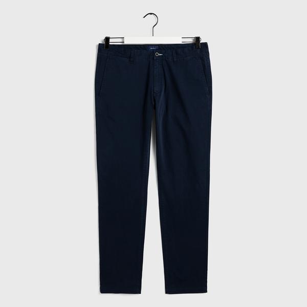 GANT Erkek Lacivert Slim Fit Chino Pantolon