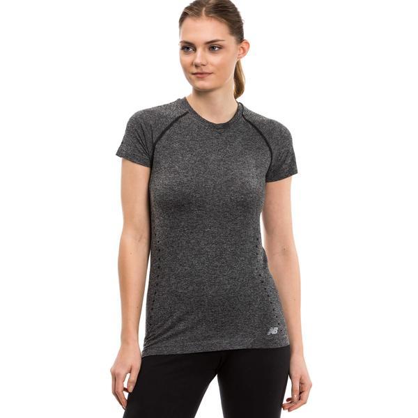 New Balance Kadın Gri Tshirt