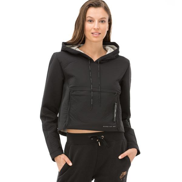 Nike Kadın Siyah Kapüşonlu Sweatshirt