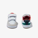 Lacoste Masters Cup 120 3 Sui Çocuk Beyaz Deri Sneaker