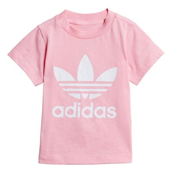 adidas Trefoil Bebek Pembe T-Shirt