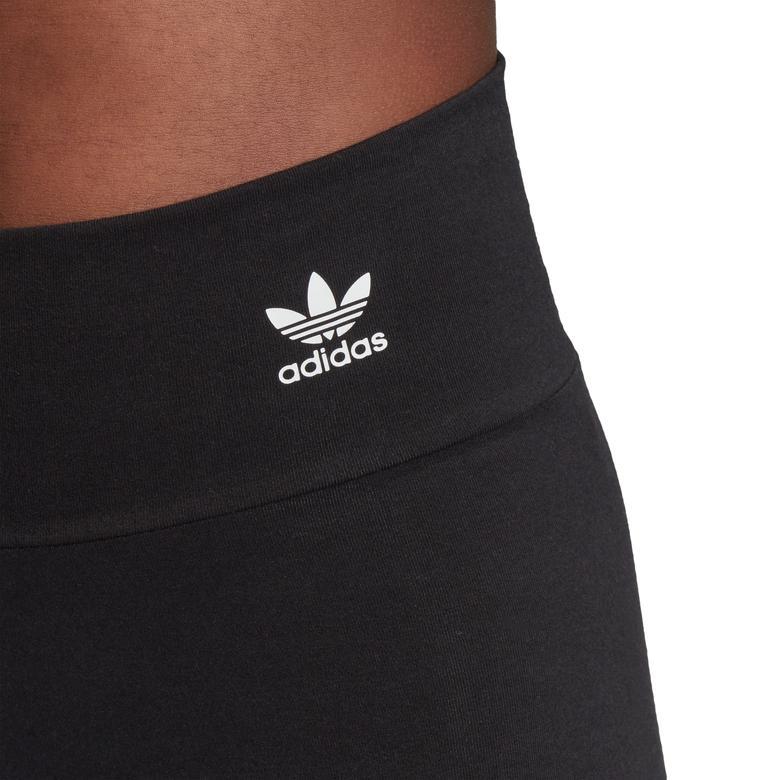 adidas Big Trefoil Kadın Siyah Tayt