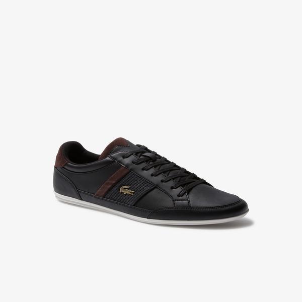 Lacoste Chaymon Erkek Siyah-Koyu Kahverengi Günlük Ayakkabı