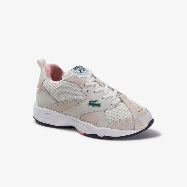 Lacoste Kadın Beyaz Pembe Sneaker