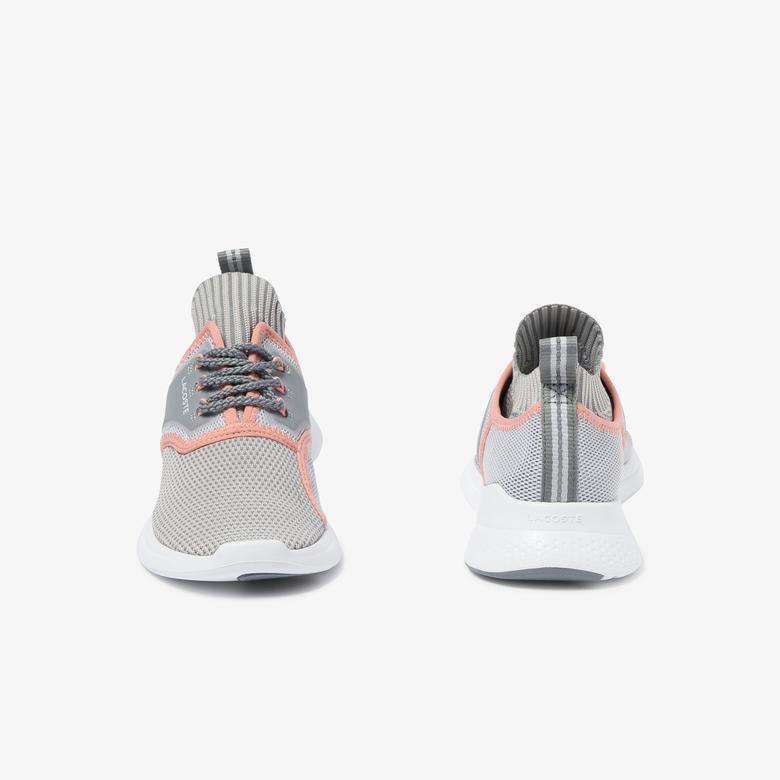 Lacoste Lt Sense Kadın Gri-Açık Pembe Sneaker