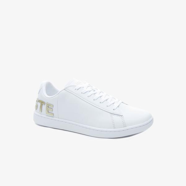 Lacoste Carnaby Evo 120 6 Us Sfa Kadın Beyaz Spor Ayakkabı