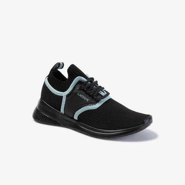 Lacoste Lt Sense 120 1 Sfa Kadın Siyah-Açık Yeşil Sneaker