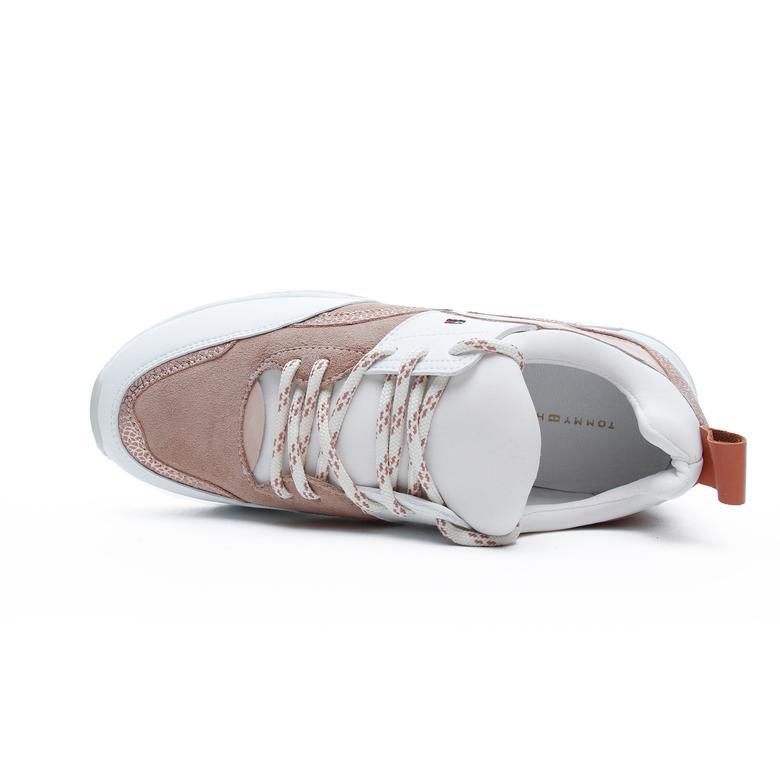 Tommy Hilfiger Sporty Chunky Glitter Kadın Kahverengi Spor Ayakkabı