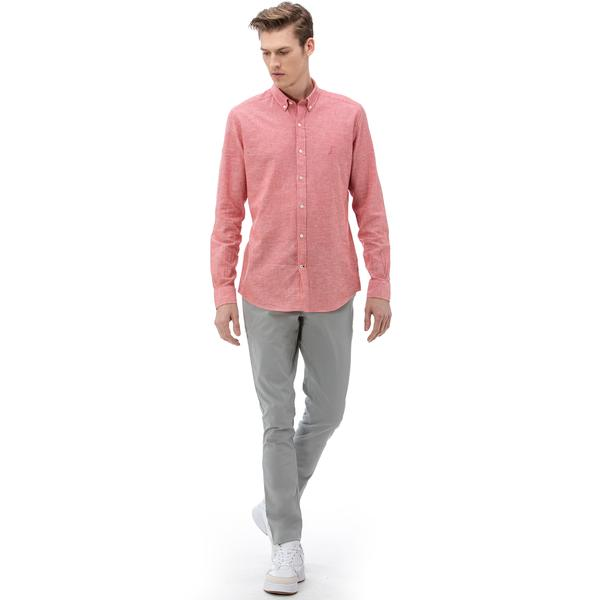 NAUTICA Erkek Slim Fit Gri Chino Pantolon