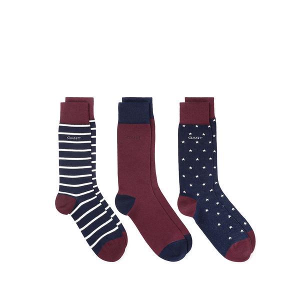 Gant Unisex Mor Çorap