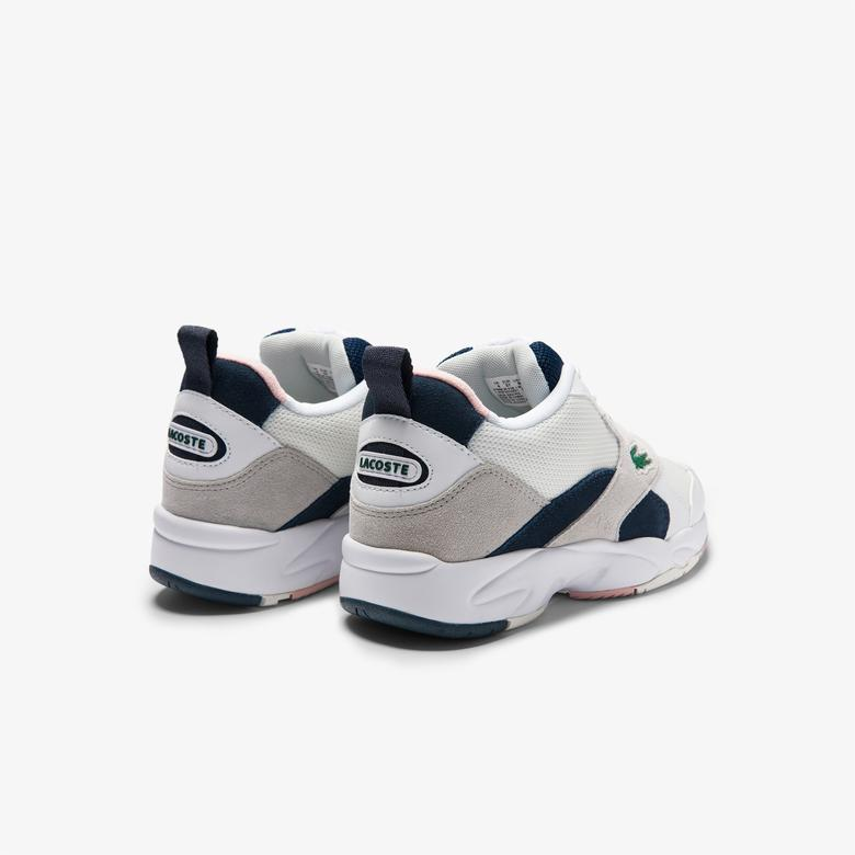Lacoste Storm 96 Kadın Gri Spor Ayakkabı