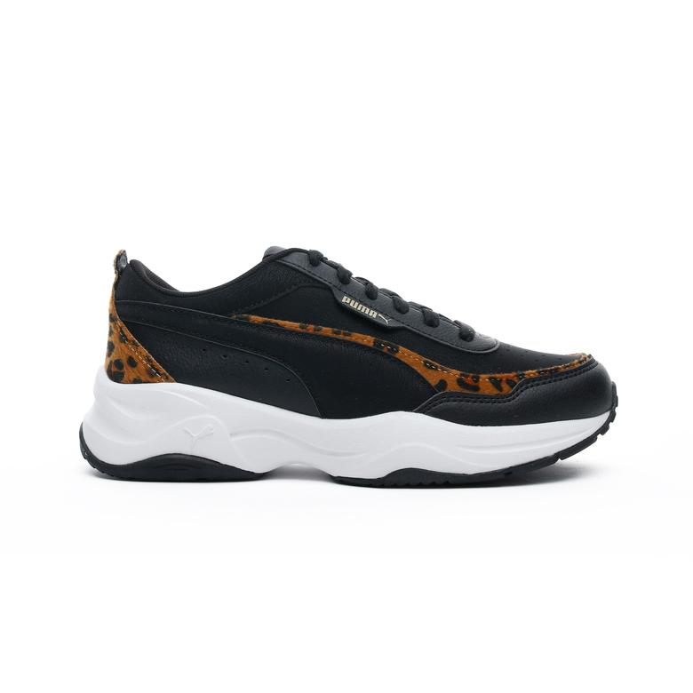 Puma Cilia Mode Leo Kadın Siyah Spor Ayakkabı