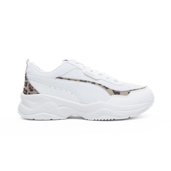 Puma Cilia Mode Leo Kadın Beyaz Spor Ayakkabı