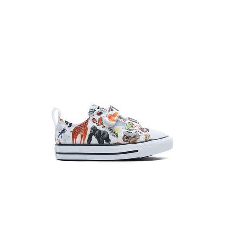 Converse Chuck Taylor All Star 2V Ox Bebek Beyaz Sneaker