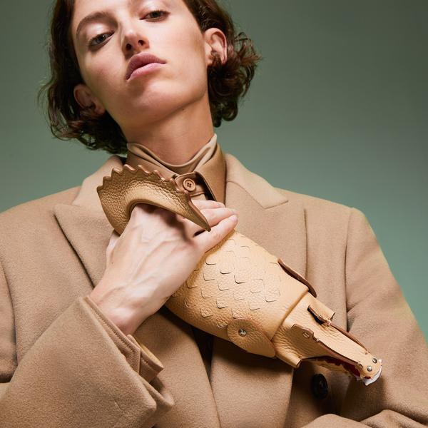 Lacoste Kadın  Fashion Show Kahverengi Clutch Çanta