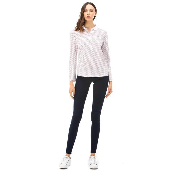 Lacoste Kadın Lacivert Jean
