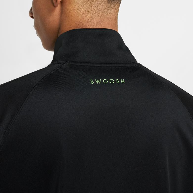 Nike Sportswear Swoosh Erkek Siyah Eşofman Üstü