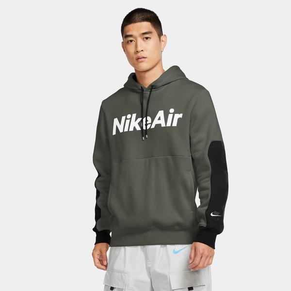 Nike Air Erkek Yeşil Kapüşonlu Sweatshirt