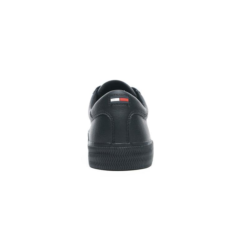 Tommy Hilfiger Essential Erkek Siyah Spor Ayakkabı