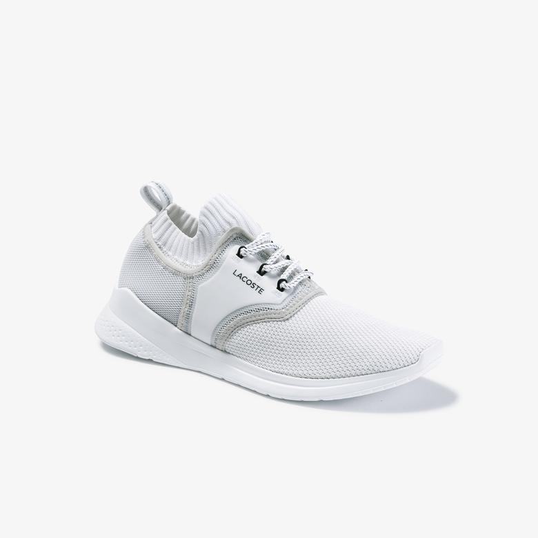 Lacoste Lt Sense 120 1 Sma Erkek Beyaz - Açık Gri Sneaker