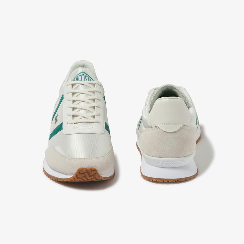 Lacoste Partner 120 4 Sma Erkek Beyaz - Gri Sneaker