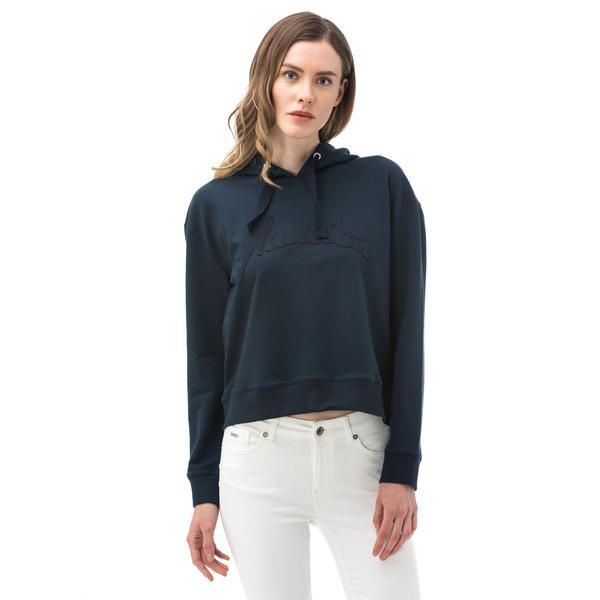 Nautica Kadın Lacivert Sweatshirt