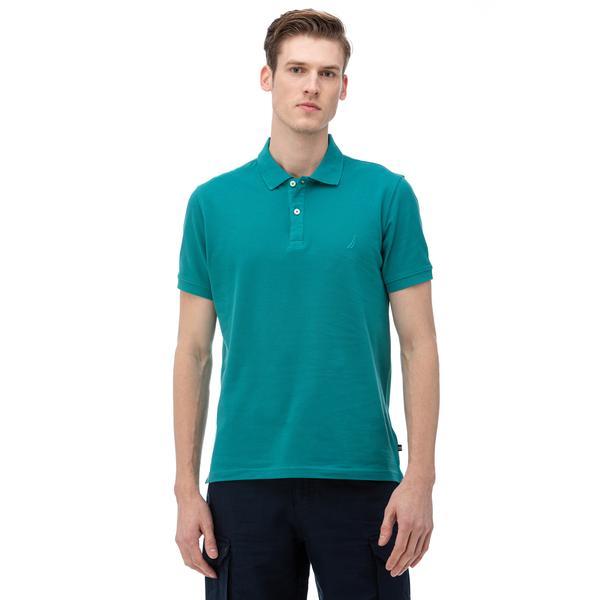NAUTICA Erkek Slim Fit Yeşil Polo